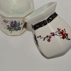 Suport aromaterapie din material ceramic