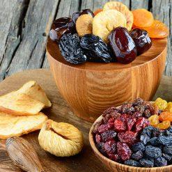 Fructe deshidratate și confiate